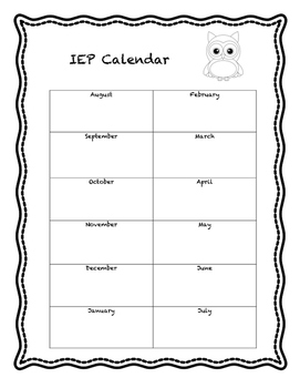 IEP Snapshots and Special Education Forms