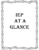 IEP Student Checklists and Forms