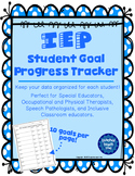 IEP Student Goal Progress Tracker