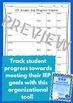 IEP Student Goal Progress Tracker