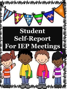 IEP Student Self-Report