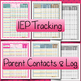 IEP TRACKING:  Occupatioanal Therapy and Physical Therapy