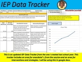 IEP Tracker for Google Docs.