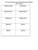 IEP Tracking Calendar