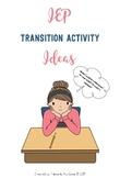 IEP Transition Activity Ideas