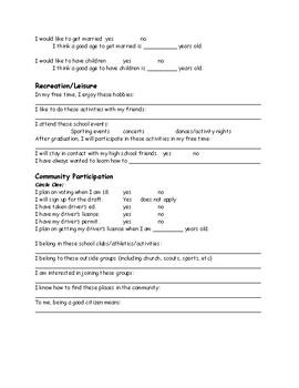 IEP Transition Survey