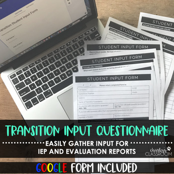 IEP Transition Survey | for Middle School Aged Students