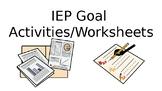 IEP Worksheet Label