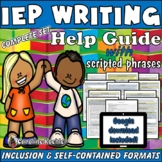 IEP Writing Help Bundle: Special Education Students Inclus