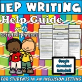 IEP Writing Help Guide: Tools for Special Education Inclus