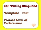 IEP Writing Simplified