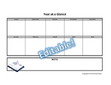 IEP YEAR at a Glance {Simple and Editable!}