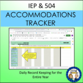 IEP and 504 Accommodations Tracker