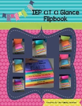 IEP at a Glance Flip Book