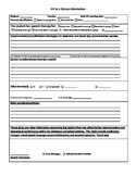 IEP at a Glance information sheet