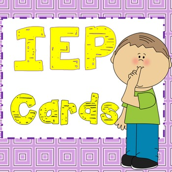 IEP cards