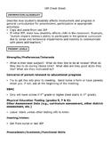 IEP cheat sheet