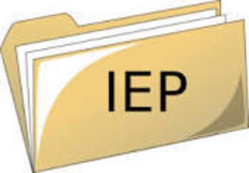 IEP general education teacher survey