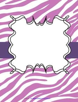 IEPs/Re-Evals At-A-Glance and Binder Covers (Plum Tones)