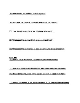 IF I STAY student STUDY GUIDE
