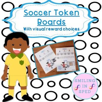 First/Then Token Board- SOCCER