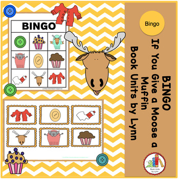 IF YOU GIVE A MOOSE A MUFFIN  BINGO