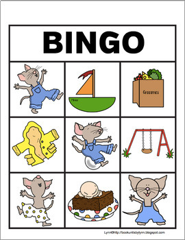 IF YOU GIVE A MOUSE A BROWNIE-BINGO SET