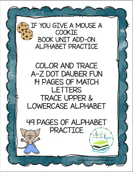 IF YOU GIVE A MOUSE A COOKIE BOOK UNIT ADD-ON