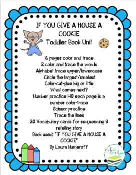 IF YOU GIVE A MOUSE COOKIE TODDLER BOOK UNIT By Book Units Lynn