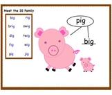 IG Family Word Work
