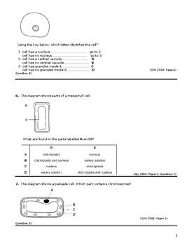 IGCSE CLASSIFIED QUESTIONS