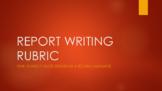 IGCSE ENGLISH AS A SECOND LANGUAGE REPORT WRITING RUBRIC