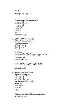 IGCSE Explanation Additional Math Paper 1 NOV 2014