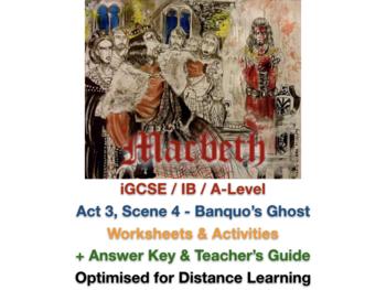 Macbeth Scene 3 Worksheets & Teaching Resources   TpT