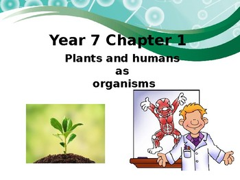 IGCSE :Plants and Humans as organisms
