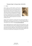 IGCSE Poetry: 'Drummer Hodge' by Thomas Hardy