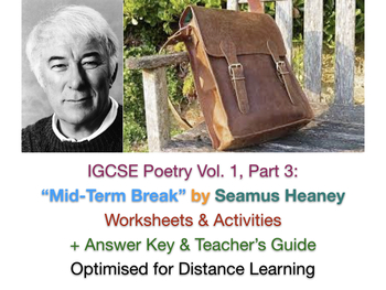 IGCSE Poetry Pack for Exams in 2020 / 2021 (Songs of Ourselves Volume 1, Part 3)