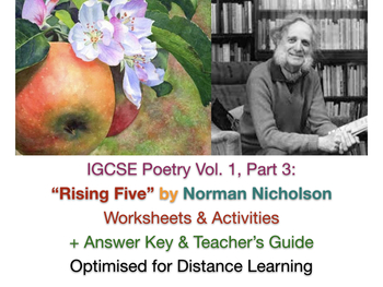 "IGCSE Poetry: ""Rising Five"" by Norman Nicholson"