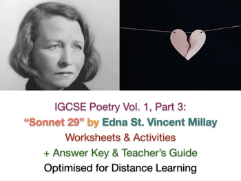"IGCSE Poetry: ""Sonnet 29"" ('Pity me not ...') by Edna St Vincent Millay"
