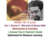 IGCSE Shakespeare: Romeo and Juliet - 1.4 - Mercutio & Queen Mab (+ ANSWERS)