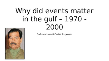 IGCSE Why did events matter in the Gulf
