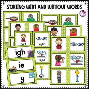 IGH & IE Phonics Activities
