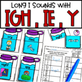 IGH and IE and Y Long I Phonics Activities