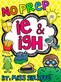 IGH and IE Worksheets & Activities {NO PREP!}