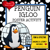 IGLOO PENGUIN POSTER