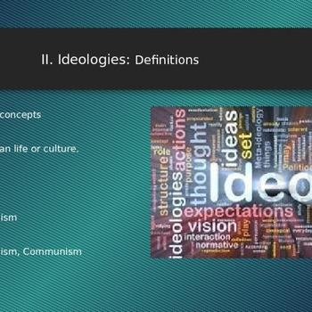 II Ideologies Conservatism