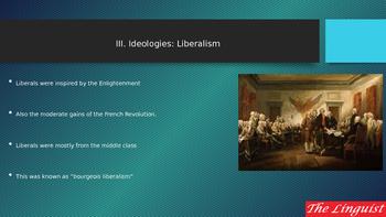 III Ideologies Liberalism