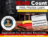 IKAN COUNT: Part One _ NO PREP Supplementary Worksheets
