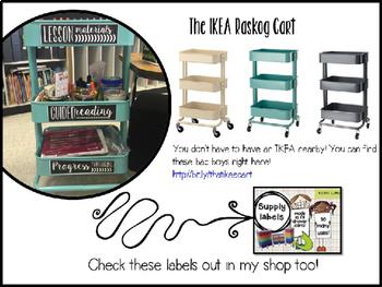 IKEA Cart Labels