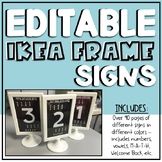 IKEA Frame Signs